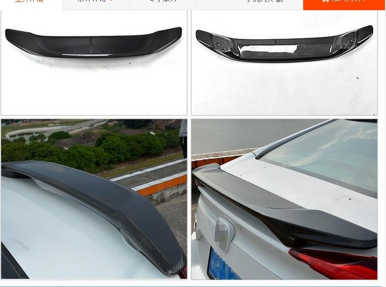 Fit for HONDA CIVIC 10 gen   carbon fiber rear spoiler wing Spoilers & Wings    - title=