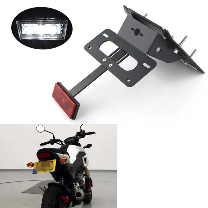 License Plate Holder Bracket Tail Tidy Kit For Honda Grom MSX125 2013 2014 2015