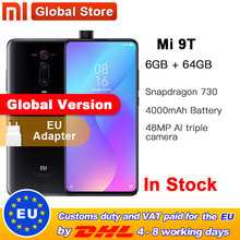Global version Xiaomi Mi 9T 6GB RAM 64GB Smartphone Snapdragon 730 Octa Core 4000mAh Pop up Front Camera AMOLED 48MP