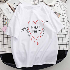 2020 Woman T Shirts Oversize Harry Styles Tshirt 1D One Direction Print Graphic TShirts Streetwear Tops Harajuku Summer Vintage