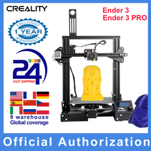 CREALITY 3D Ender 3/Ender 3 PRO 3D Printer Upgraded Magnet Build Plate Resume Power Failure Printing MeanWell Power Supply