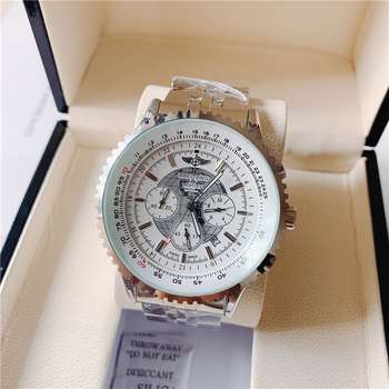 2020 Breitling Luxury Brand  Wristwatch Mens and  Woman Watches Quartz Watch with Steel Strap relojes hombre automatic4