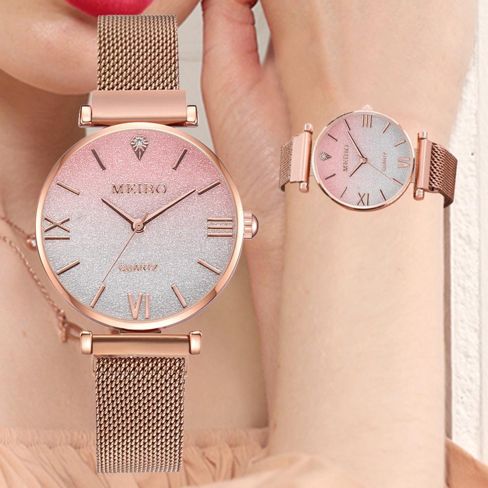 Luxury Watch Women Magnetic Starry Sky Women Watches Quartz Wristwatch Fashion Ladies Magnet Watch Reloj Mujer Relogio Feminino