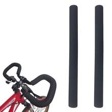 2Pcs Bike Racing Bicycle Motorcycle Handle Bar Foam Sponge Grip Cover Nons TDCA