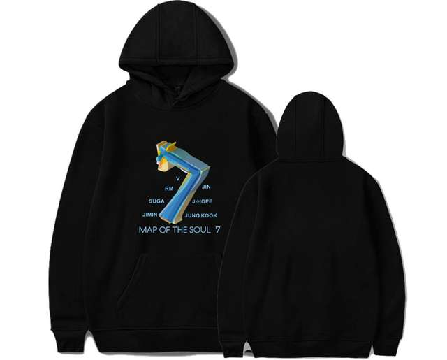 MAP OF THE SOUL 7 WORLD TOUR HOODIE (4 VARIAN)