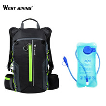 WEST BIKING Ultralight Bicycle Bags Outdoor Sports Backpack Breathable Men Women Bike Bag Hydration Water Cycling