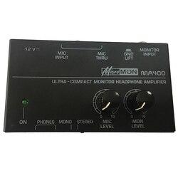 Ma400 słuchawek przedwzmacniacza przedwzmacniacz mikrofonu słuchawek przedwzmacniacza osobisty Monitor mikser  ue wtyczka