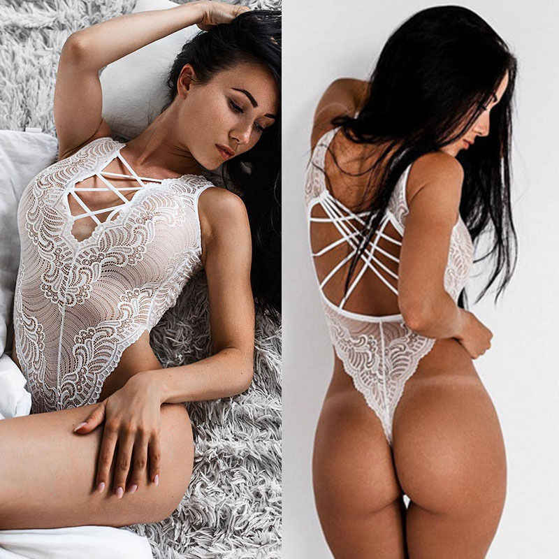 Renda Seksi-Pakaian Dalam Wanita-Baju Tidur-Wanita-Underwear-Celana Dalam Wanita-Dress-Babydoll-Baju Tidur wanita Satu Potong Baju Renang Bikini 2019