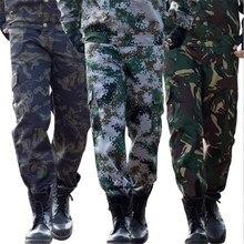 Uniforme militar táctico de camuflaje para hombre, pantalones geniales de buena calidad para trabajo de campo, seguridad, Camping y escalada