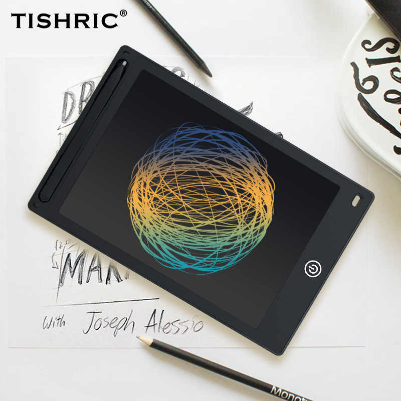 TISHRIC LCD Writing Tablet 10/8.5 inch Erasable Digital Graphics Tablet Electronic Drawing Tablet/Pad/Board For Kids With Pen