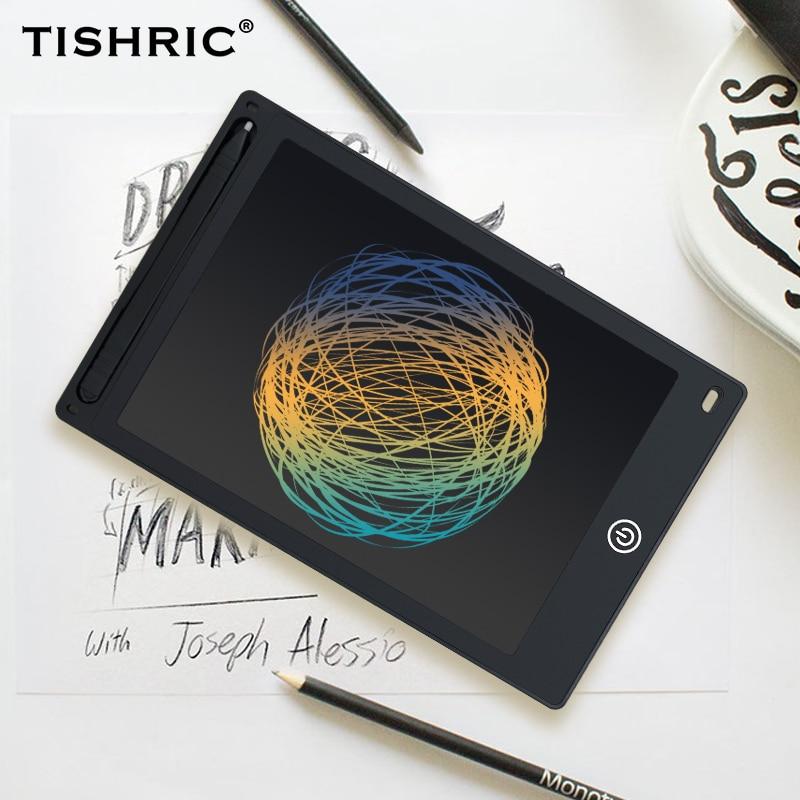 TISHRIC lcd планшет для письма 10/8. 5 дюймов стираемый цифровой графический планшет электронный планшет для рисования/планшет/доска для детей с ручкой|Цифровые планшеты|   | АлиЭкспресс