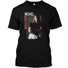 Майкл рубашка-Болтон Винтаж футболка 1992 DMN футболка черного цвета