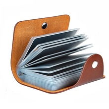 Bag Wallet Business-Card-Holder Passport-Card ID Credit Function Women New PU H088