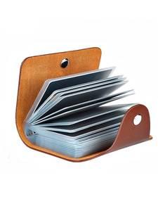 Bag Wallet Business-Card-Holder Passport-Card Credit Women New ID H088 Function PU