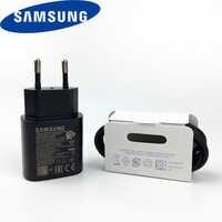 Original Samsung Note 10 chargeur super rapide pour téléphone portable 25 w EU adaptateur de Charge rapide Usb PD PSS EP-TA800 note 10 plus s 10