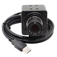 13MP USB Camera Manual 4/6/8mm CS Lens CCTV Security Camera mini PC Cam Webcam Camera Industrial for scanning, video recording