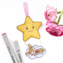 Clear Stamps for Scrapbooking Lucky Star Rubber Background Stamp Silicone Seals Craft Stencil Album Card Making Decoration Sheet серьги other lucky brand stamp 10