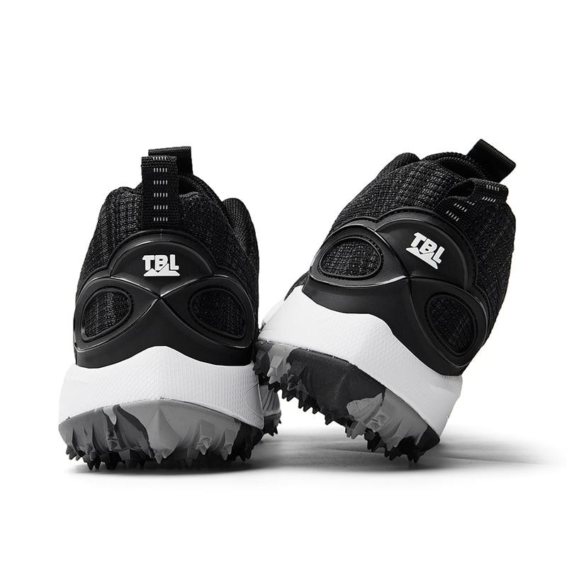 Novos homens sapatos de golfe ao ar