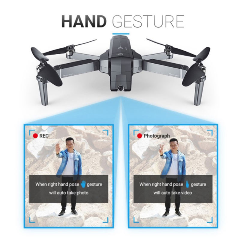 Profession 5G WiFi RC Drone GPS With 2K Camera Foldable Drones Brushless Quadcopter Drone 28 Mins Flight Time VS F11 SG906