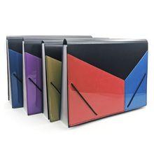 A4 Expanding Multi-layer File Folder Document Organizer 13 Pockets Accordion Bag 35EA