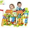 113/226 шт. Большие размеры строительные блоки Совместимые LegoINGlys Duploed Строительные блоки DIY парк развлечений кирпичные игрушки для детей