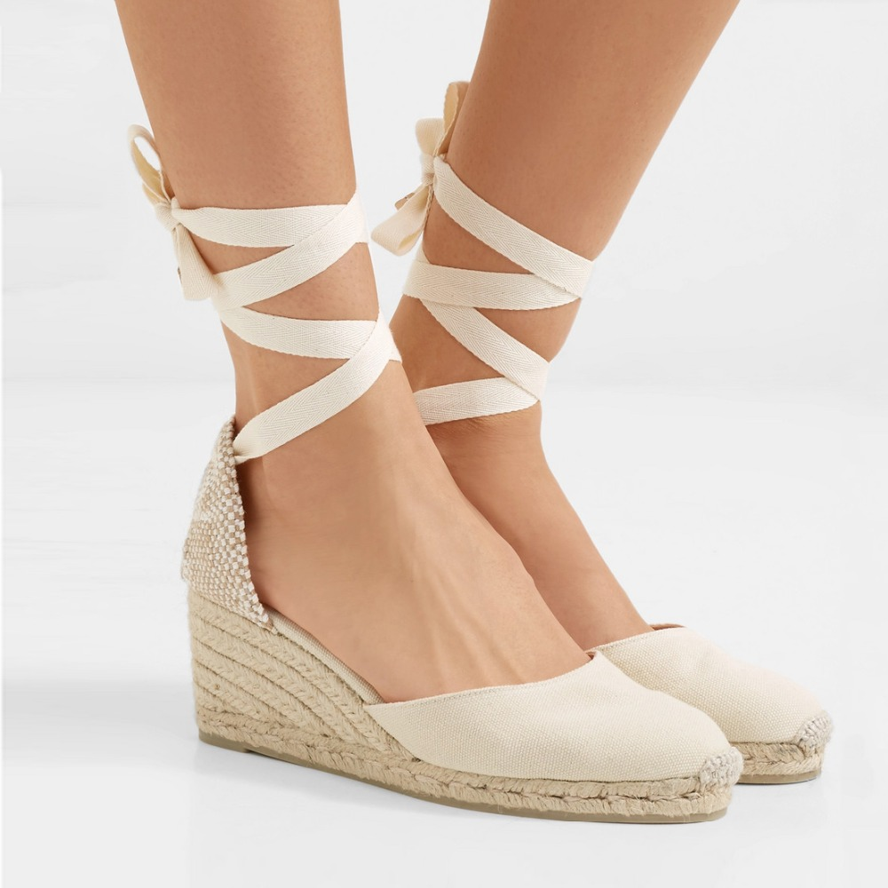 2020 Ankle Strap Espadrille Sandals