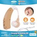 Cofoe Wiederaufladbare Hörgerät für Ältere menschen Hören Verlust Sound Verstärker Ohr Pflege Werkzeuge Einstellbare audifonos
