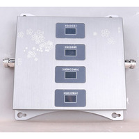 2G 3G 4G SIGNAL BOOSTER Four  band Mobile CDMA GSM DCS LTE  Signal Repeater  QUARD BAND  Cell phone SIGNAL AMPLIFIER