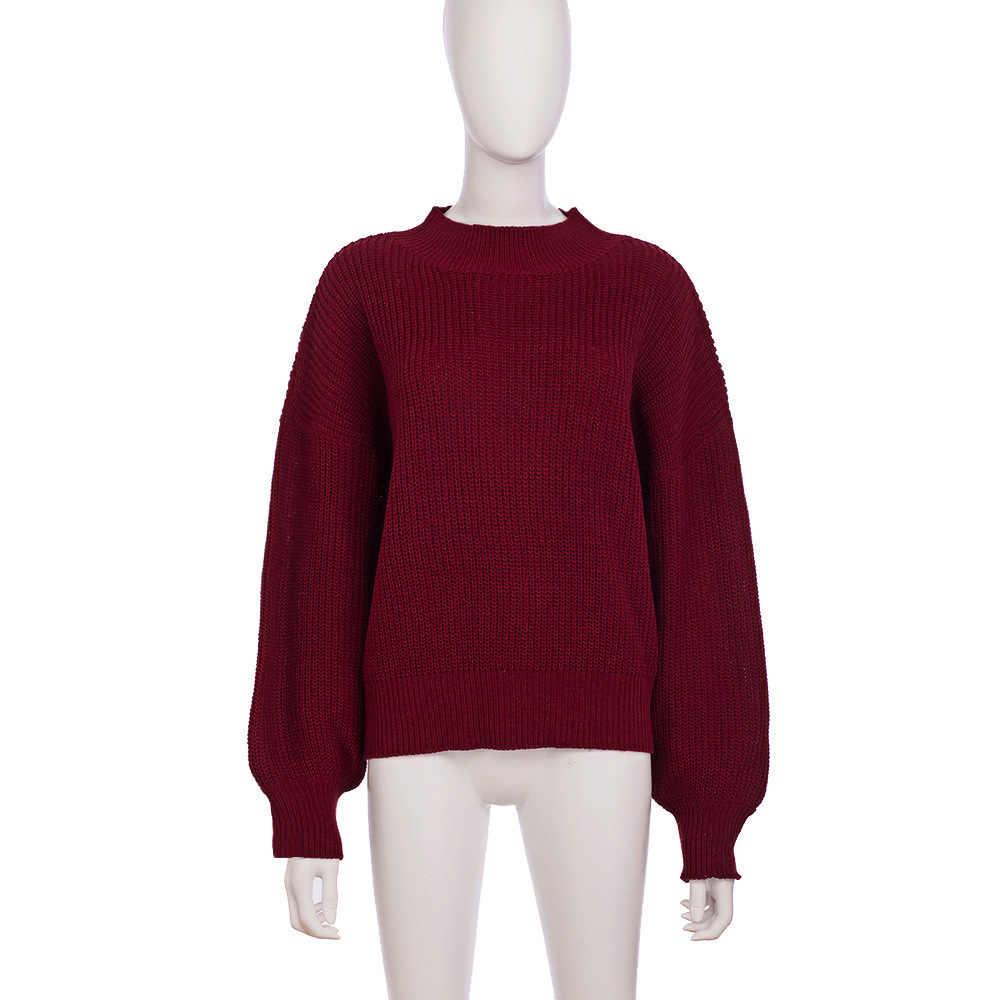 2019 кардиган с пуговицами, Женский базовый свитер с круглым вырезом, тонкий вязаный Повседневный свитер красного цвета, зимняя одежда, Pull Femme 2019