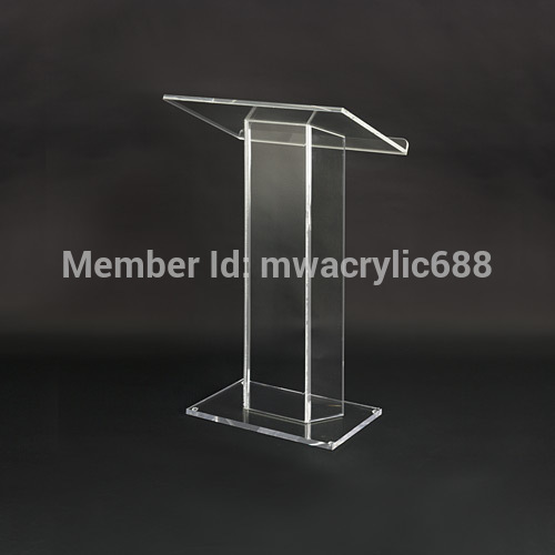 Pulpit FurnitureFree Shipping Soundness Modern Design Cheap Acrylic Lecternacrylic Pulpit