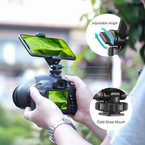 Image 4 - Ulanzi ST 06 調整可能な携帯電話ホルダーと 1/4 ネジホットシューマウントクイックリリース Vlog ビデオ撮影一眼レフカメラ用スマート電話