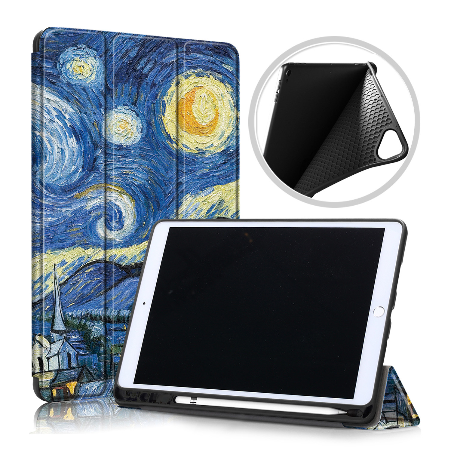 Funda with Pencil Smart 10.2 Holder IPad Case For Magnetic Stand Folding Tablet Inch 2020