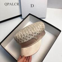 Qpalcr 2020 Осенняя модная шапка для женщин военные шапки уличные