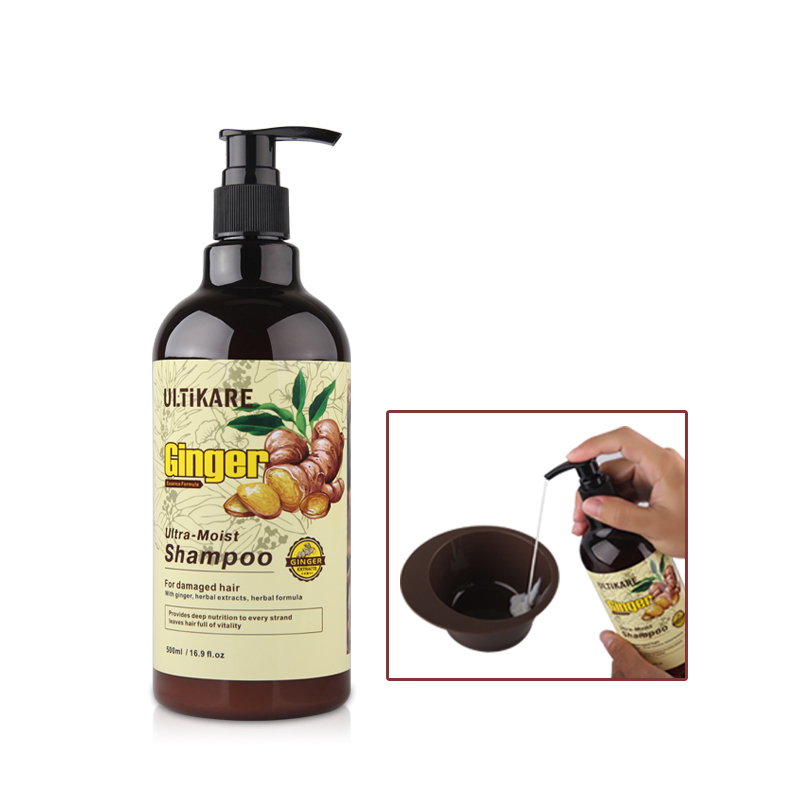 11.11 500ML Ultra-Moist Shampoo No silicon oil added Mineral-free oil deep nutrition promoting blood circulation free shipping