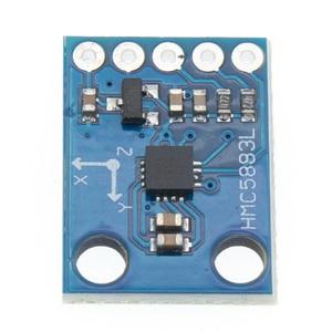 Image 4 - 50 Stks/partij GY 273 GY273 HMC5883L Module Triple Axis Kompas Magnetometer Sensor 3 V 5 V Gratis Verzending