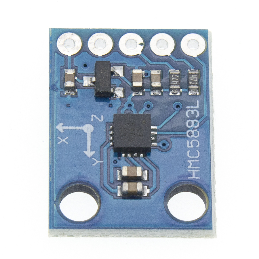 Image 4 - 50pcs/lot GY 273 GY273 HMC5883L Module Triple Axis Compass Magnetometer Sensor 3V 5V Free shipping-in Integrated Circuits from Electronic Components & Supplies
