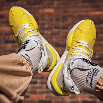 Trend Casual sportowe męskie buty do biegania oddychająca amortyzacja komfortowe tenisówki 39S męskie buty Krasovki akcesoria akcesoria tanie i dobre opinie stenzhorn Gumowe Mesh Dla dorosłych 8843 Mokasyny Pasuje prawda na wymiar weź swój normalny rozmiar Wysokość zwiększenie