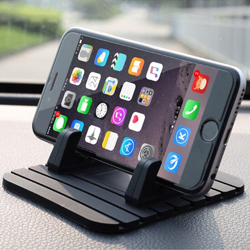 Car Phone Mat Mobile Phone Holder Car Gadget Car Mats For Phone Non Slip Pad in Car Accessories Mat For Car Panel Waterproof