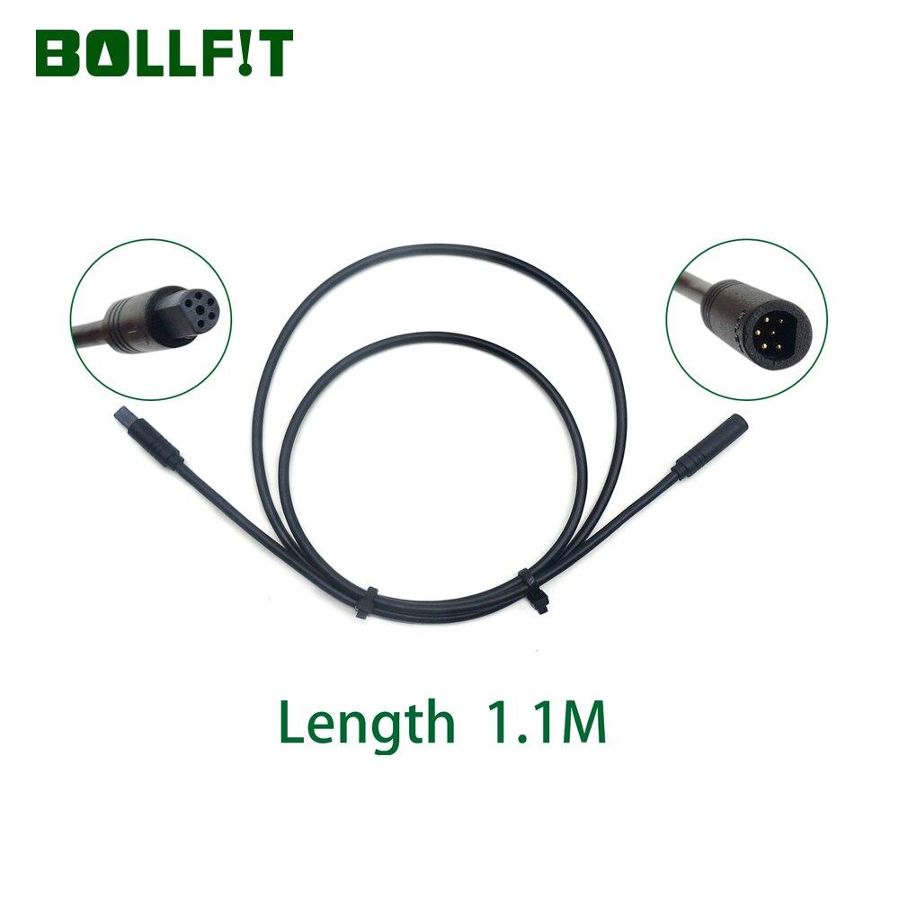 TongSheng Motor Central de Cable de Palanca de Freno hidr/áulico de Bicicleta el/éctrica con Pantalla VLCD5 Compatible con Accesorios de sensores hidr/áulicos y mec/ánicos