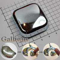 Free shipping99,99% Purity 20g Gallium Metal Element 31 , Low Melting Point Metal Educational Diy Toy Magic Refined In Your Hand