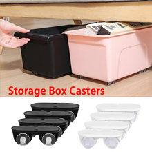 Swivel Caster Wheels 360 Degree Rotation Pulley for Furniture Various Storage Boxes VILLCASE Stainless Steel Self Adhesive Mini Swivel Casters Wheels Universal Wheels at the Bottom of the Storage Box 8 PCS