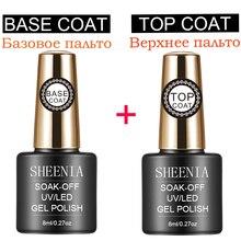 Primer Top-Coat Gel-Polish Base Nail-Tips Venalisa UV 16ML Uv-Gel LED Matte Sheenia Soak-Off