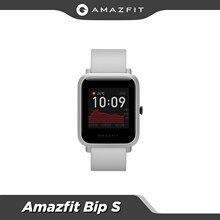 Stokta Amazfit Bip S küresel sürüm Smartwatch 5ATM GPS GLONASS Bluetooth akıllı saat android iOS telefon için