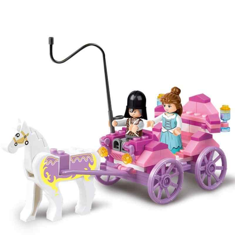 Gadis Snack Pengiriman Mobil Mobil Makan Mobil Perjalanan Mobil Model Blok Bangunan Figures, Mainan untuk Anak-anak Kompatibel Legoings