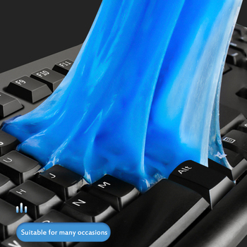 200g Auto Car Cleaning Pad Cleaner Duster Remover Gel Cleaner Home Office Computer Keyboard Clean Reusable Teclados Accesorios 1