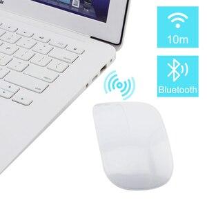 Image 4 - Ratón inalámbrico recargable por Bluetooth 5,0, Mouse delgado con láser mágico táctil de 1600DPI, silencioso para ordenador de oficina, para Apple Macbook
