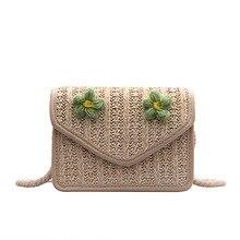 Summer Straw Bag Purses and Handbags Hand Bags Womens 2019 New Style Fashion Fairy Shoulder/Crossbody Beach Woven
