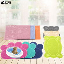 Pet Dog Cat Litter Mat Puppy Kitty Dish Feeding Bowl Placemat Tray Tidy Easy Cleaning Sleeping Pad High Quality