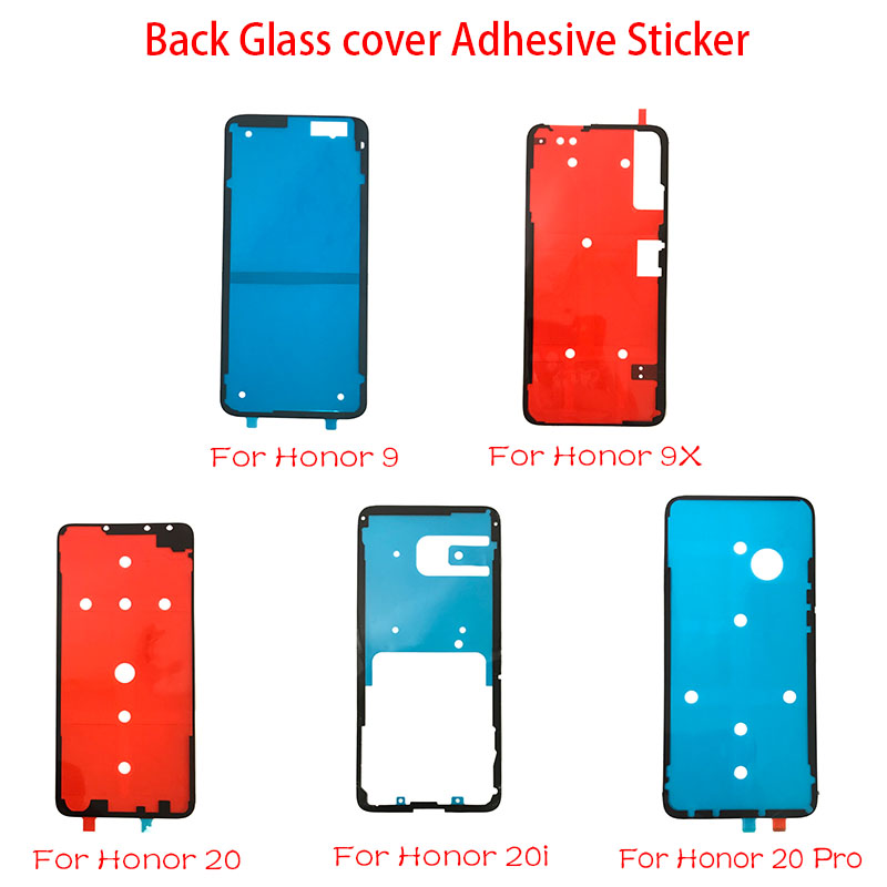New Back Battery Sticker Adhesive Tape Glue For Huawei Honor 9 10 8X 9X 20 20i Nova 3 4 P30 Pro P10 P20 Lite Replacement Parts