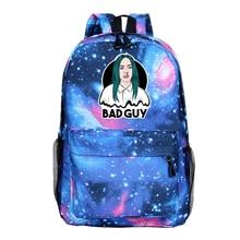 Billie Eilish rucksack Teenage Backpacks School Bags for Boys Girls Travel Laptop Backpack Fashion Mochila Bolsa Escolar